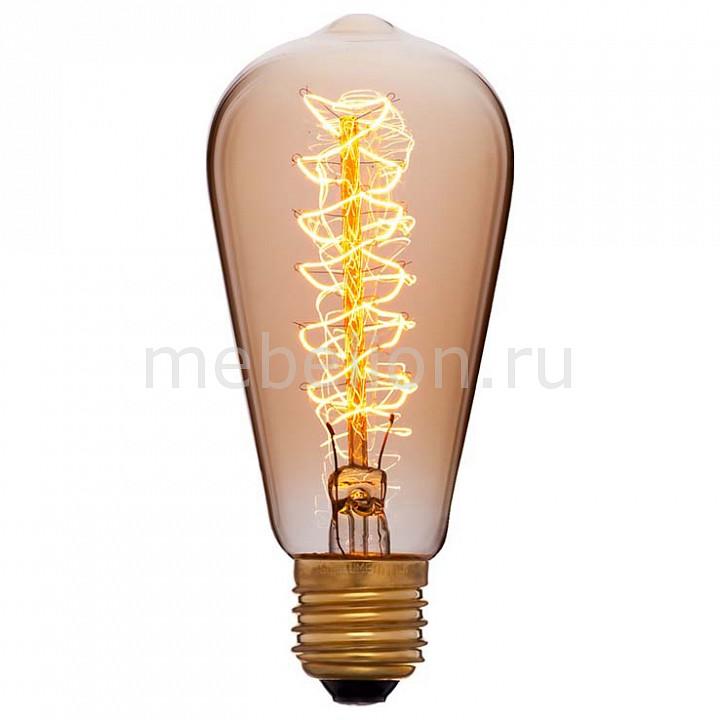 Лампа накаливания Sun Lumen ST58 E27 240В 40Вт 2200K 052-191