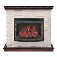 Электрокамин напольный Real Flame (108х400х101 см) Elford 00010010531