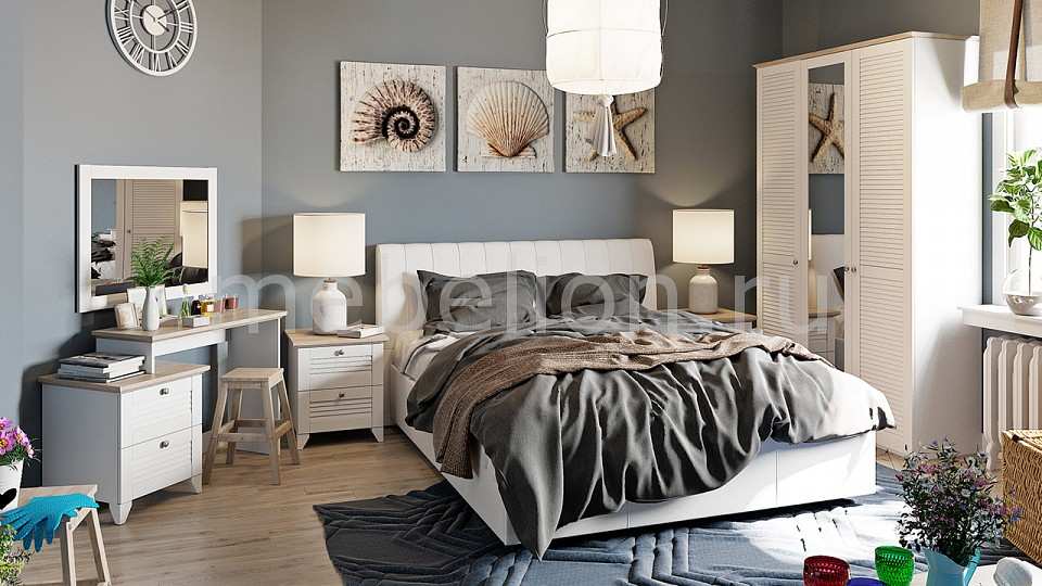 Гарнитур для спальни Ривьера ГН-241.003