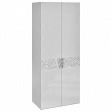 Шкаф платяной Амели СМ-193.07.003 белый глянец