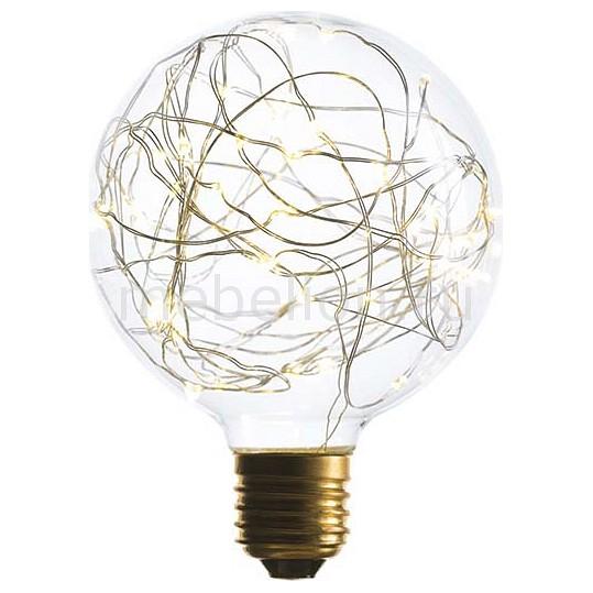 Лампа светодиодная Sun Lumen G95 E27 240В 1.5Вт 2200K 057-066 светодиодная свеча star trading led t light 2шт silver 066 04
