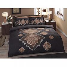 Комплект полутораспальный Satin Delux/пано Diane, коричневый 4241-60070123