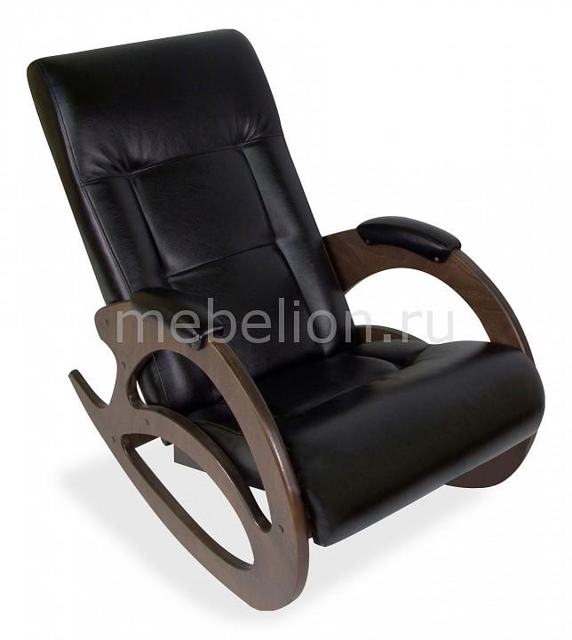 Кресло-качалка Мебелик Тенария 1 кресло качалка мебелик тенария 1 замша бежевый каркас темно коричневый