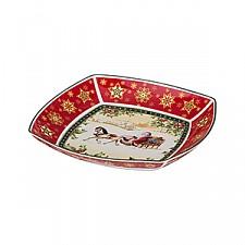 Салатник (33х33х5 см) Christmas collection 586-190