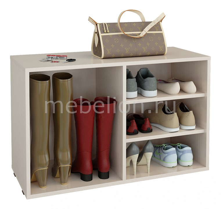 цена на Стеллаж для обуви МФ Мастер Лана-2 ПОЛ-2 (1С+1П)