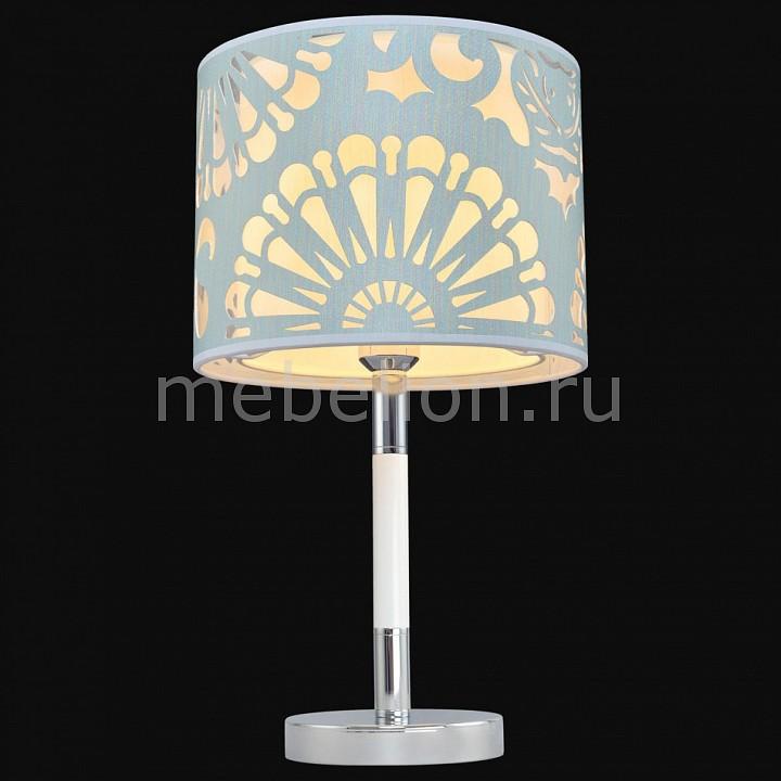Купить Настольная лампа декоративная 6501 5-6501-1-CR+WH E27, Максисвет, Россия