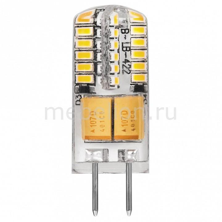 Лампа светодиодная [поставляется по 10 штук] Feron Лампа светодиодная G4 12В 3Вт 2700 K LB-422 25531 [поставляется по 10 штук] цена