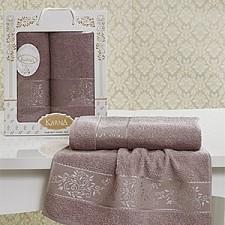 Набор полотенец для ванной Karna Набор из 2 полотенец для ванной LAUREN