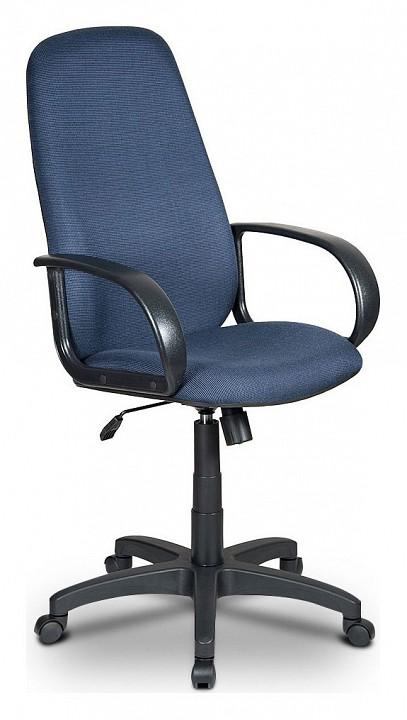 купить Кресло компьютерное Бюрократ Бюрократ Ch-808AXSN черно-синее по цене 4590 рублей