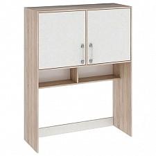 Надстройка для стола Атлас ПМ-186.09 дуб сонома/хаотичные линии