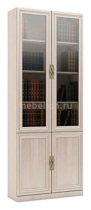 Шкаф книжный ВМФ Карлос-10
