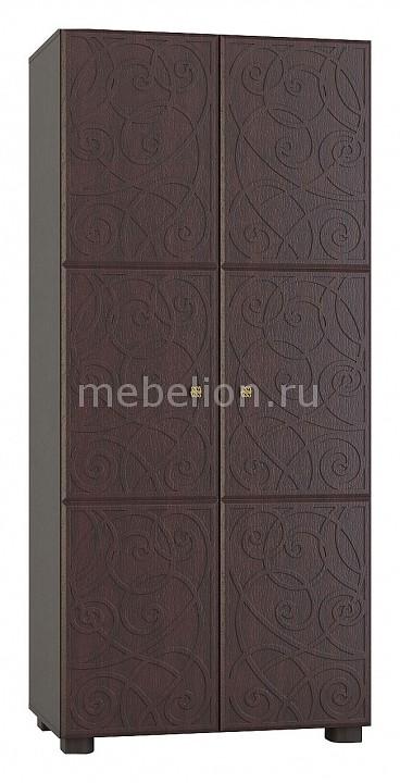 Шкаф платяной Компасс-мебель Легенда ЛГ-06 шкаф compass лг 6 орех шоколадный патина