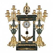 Настольные часы АРТИ-М Набор из часов и 2 подсвечников 292-019