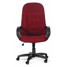 Кресло компьютерное Chairman 727 бордовый/черный