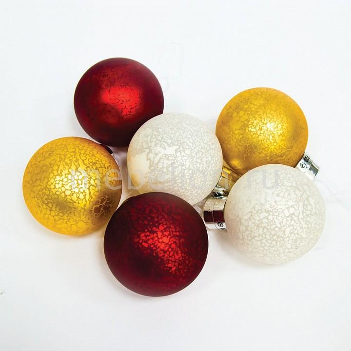 Набор из 6 елочные шаров световых (10 см) LT121 26978