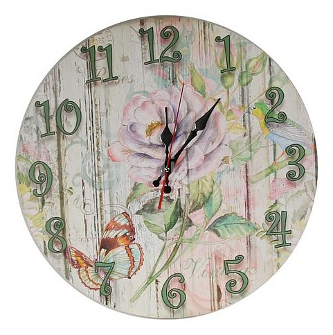 Часы настенные Акита (40 см) AKI C40-4 часы настенные акита 39х28 см aki n 29