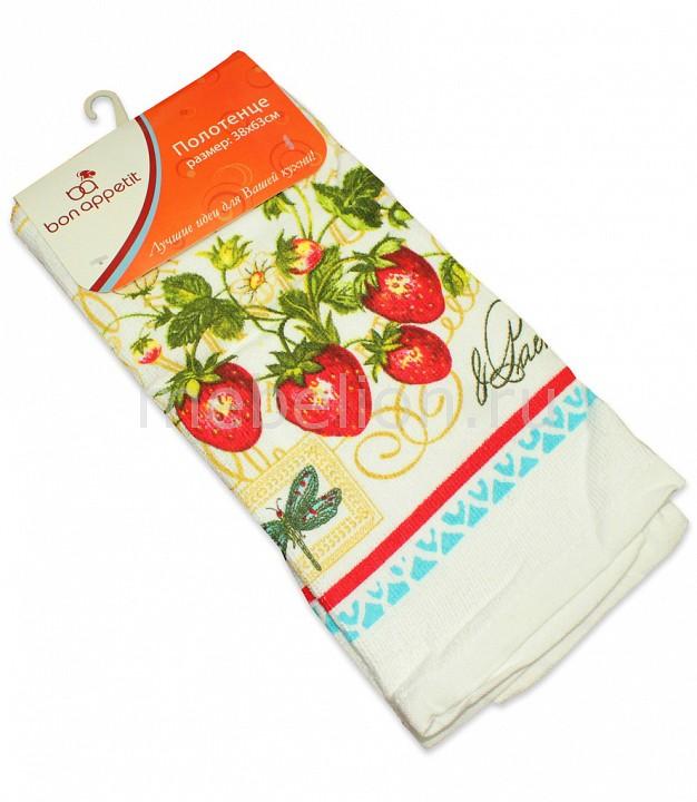 Полотенце для кухни Bon Appetit Strawberry полотенце кухонное bon appetit акварель 63 х 38 см