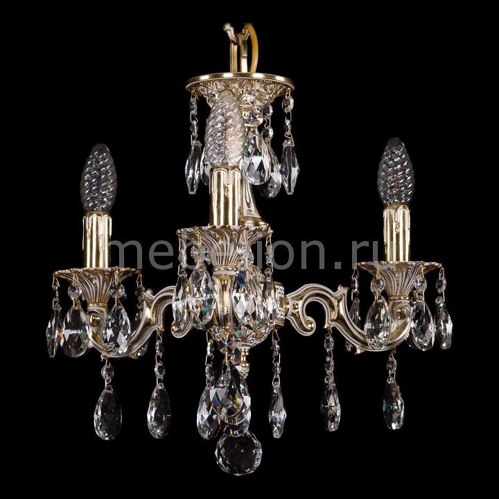 Подвесная люстра Bohemia Ivele Crystal 1707/3/125/A/GW 1707
