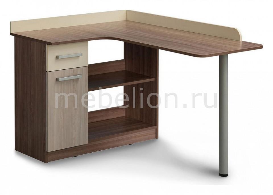 Стол письменный Mebelson Колледж MKK-003 стол письменный витра британия 52 13 ясень шимо темный дуб кобург мокко глянец