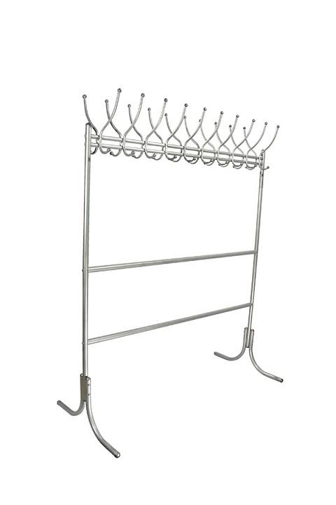 Вешалка напольная Мебелик Вешалка гардеробная М-12 металлик