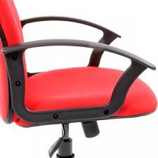 Кресло компьютерное Chairman 289 красный/черный