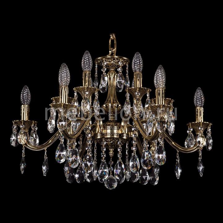 Подвесная люстра Bohemia Ivele Crystal 1703/12/225/A/GB 1703