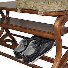 Банкетка-стеллаж для обуви Диана