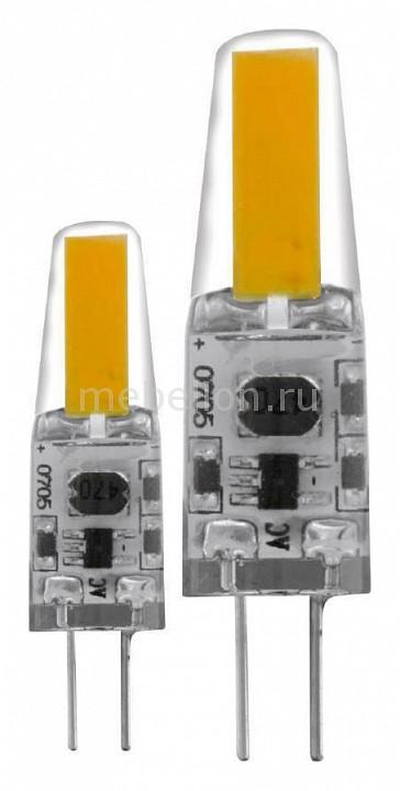 Комплект из 2 ламп светодиодных Eglo Led лампы G4 2700K 220-240В 1,8Вт 11552 комплект из 2 ламп светодиодных eglo led лампы g4 2700k 220 240в 1 2вт 11551