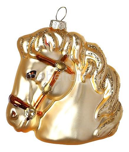 Елочная игрушка (10 см) Лошадка 785-015