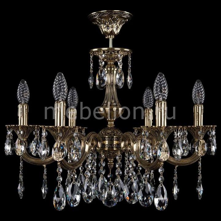 Люстра на штанге Bohemia Ivele Crystal 1702/6/210/A/GB 1702