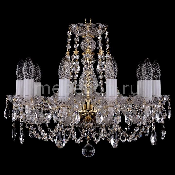 Подвесная люстра Bohemia Ivele Crystal 1406/10/160/G 1406