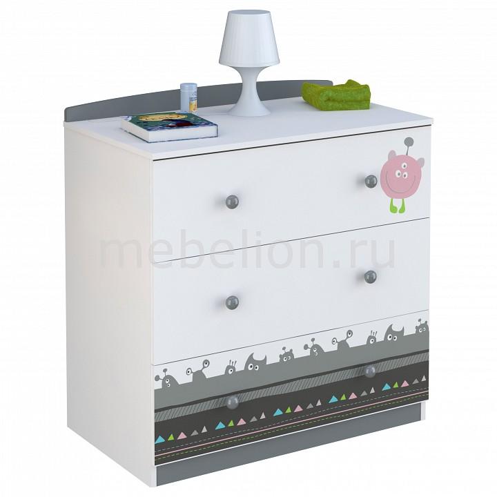 Комод Polini Basic Монстрики  пеленальные комоды со столиком