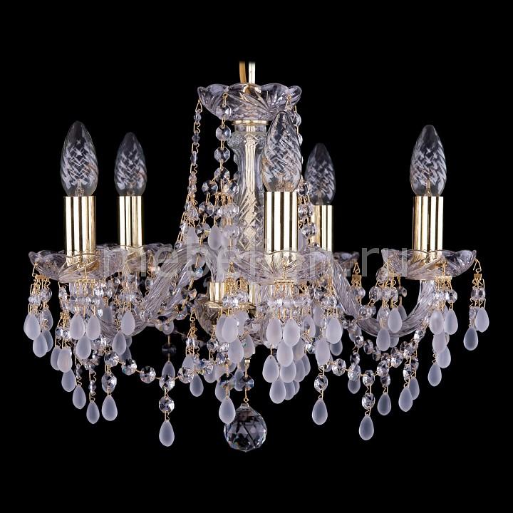 Подвесная люстра Bohemia Ivele Crystal 1410/5/141/G/0300 1410