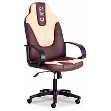 Кресло компьютерное Neo 1 коричневый/бежевый