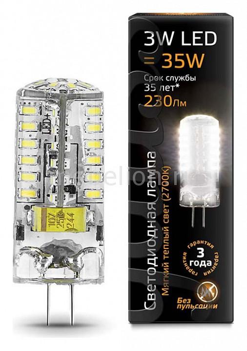 Лампа светодиодная Gauss 1077 G4 185-265В 3Вт 2700K 107707103