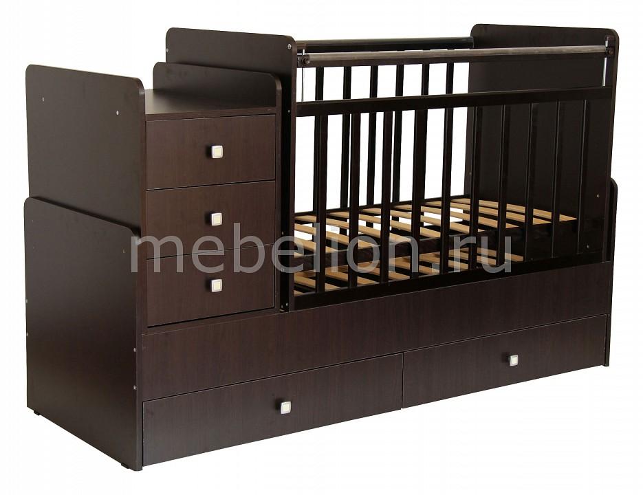 Кроватка-трансформер Фея 1100  прикроватные тумбочки фото и цены