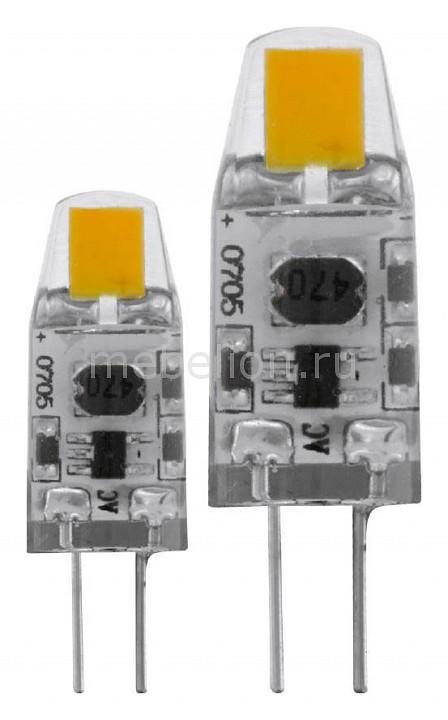 Комплект из 2 ламп светодиодных Eglo Led лампы G4 2700K 220-240В 1,2Вт 11551 комплект из 2 ламп светодиодных eglo led лампы g4 2700k 220 240в 1 2вт 11551