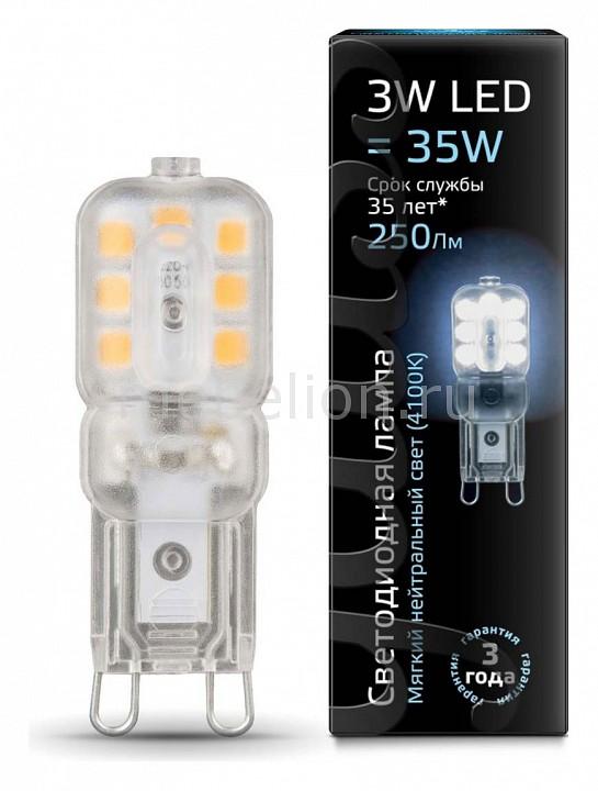 Лампа светодиодная Gauss 1074 G9 220-240В 3Вт 4100K 107409203