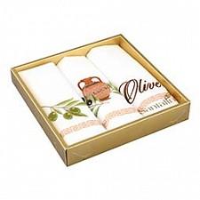 Набор из 3 салфеток Оливки 850-510-01