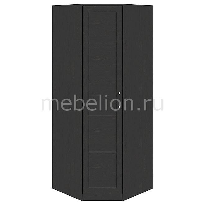 цена на Шкаф платяной угловой Мебель Трия Токио СМ-131.09.001 венге цаво/венге цаво/венге цаво