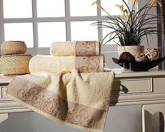 Банное полотенце Motif кремовый AR_F0089074