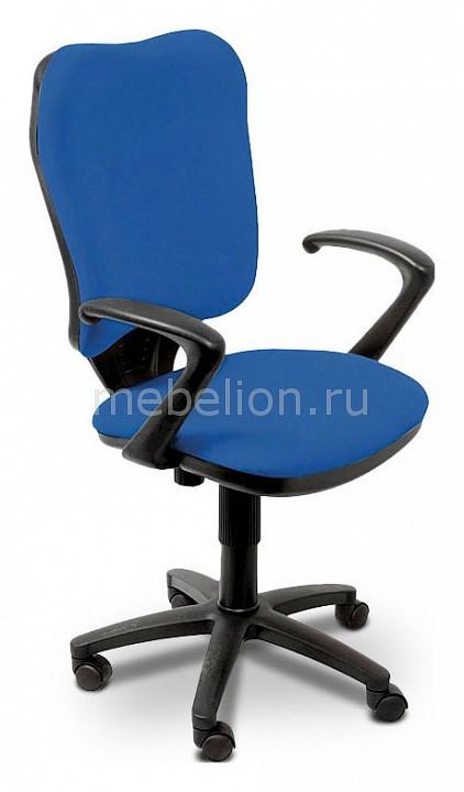 Кресло компьютерное Бюрократ Бюрократ CH-540AXSN синее бюрократ кресло бюрократ ch 540axsn low 26 21 низкая спинка синий 26 21