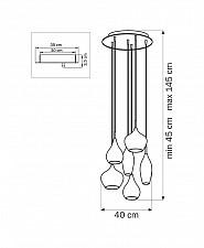 Подвесной светильник Lightstar 803069 Pentola