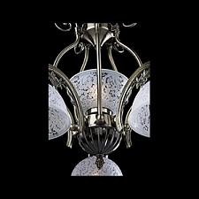 Подвесная люстра Eurosvet 22562/5+1 античная бронза 22562