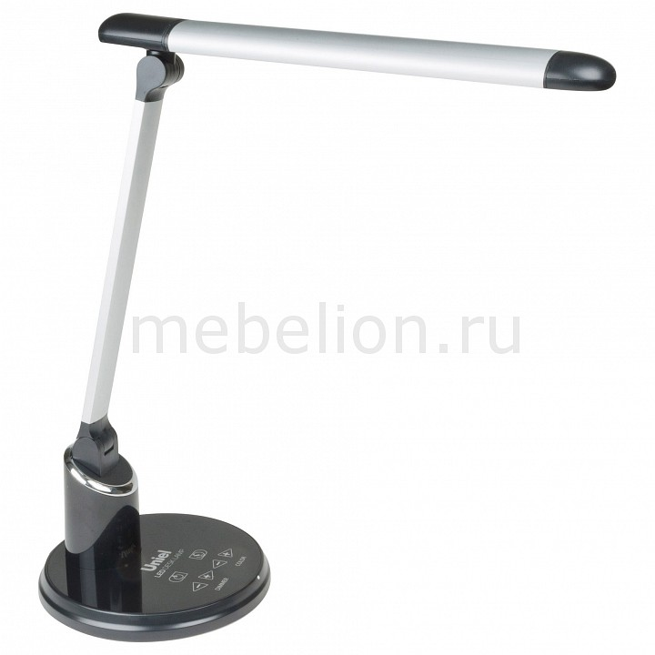 Настольная лампа офисная Uniel TLD-517 Silver-Black/LED/900Lm/2700-6400K/Dimmer ultrafire c8 ssc z7 900lm 3 mode white flashlight black 1 x 18650