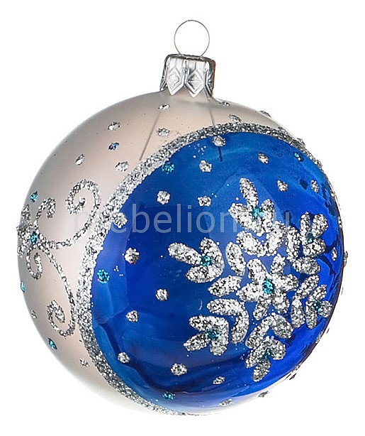 Елочный шар (8 см) Искристый 860-426
