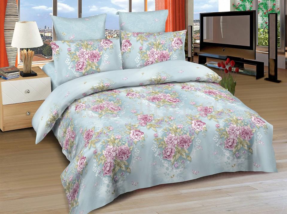 Комплект евростандарт Amore Mio BZ Verona постельное белье amore mio bz verona комплект 1 5 спальный сатин 86482