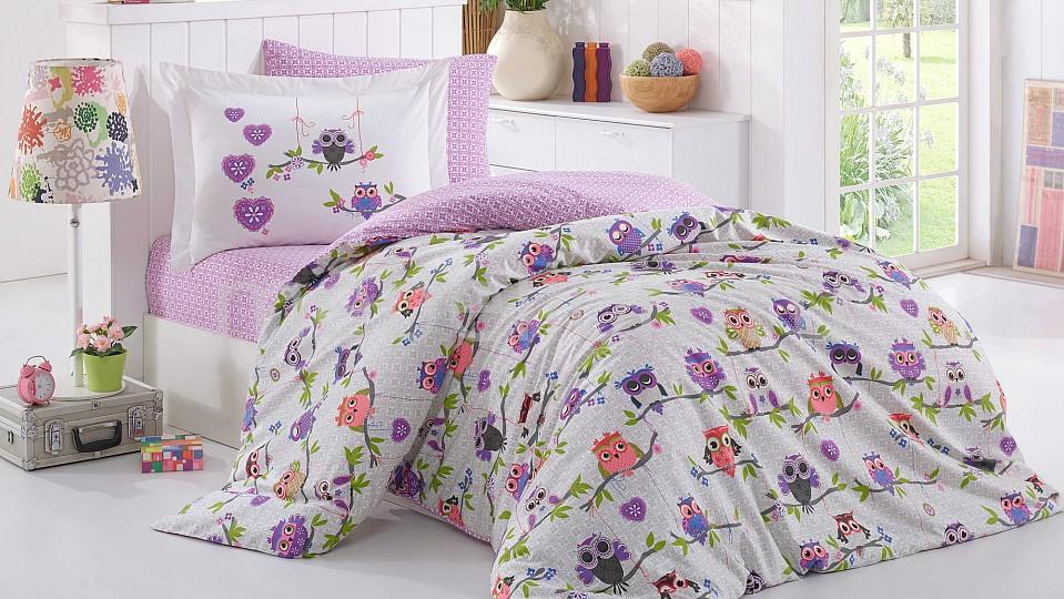 Комплект полутораспальный HOBBY Home Collection CANDY лакированные бусины стекло круглые розовато лиловый 8 мм отверстие 1 мм около 104 шт нитка 31 5