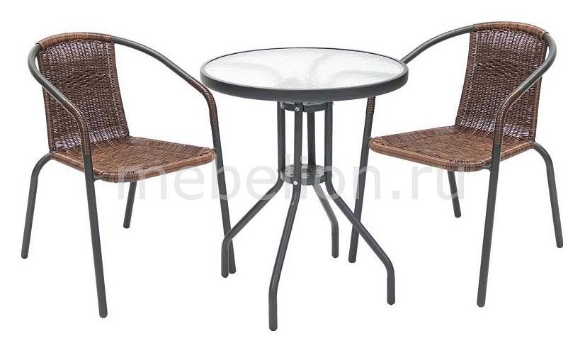 Набор уличный Afina Асоль-CDT TLH-039/CDT01-D60 Brown набор мебели асоль 2в