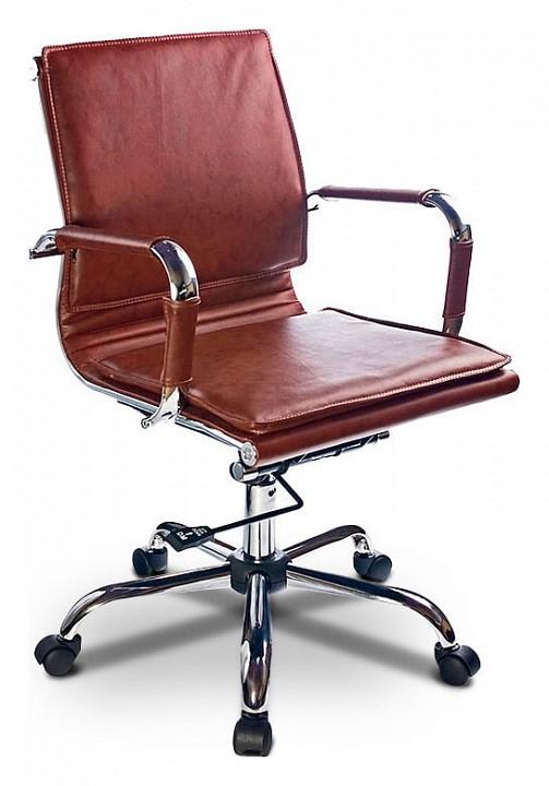 Кресло компьютерное CH-993-low коричневое  купить детский пеленальный комод недорого